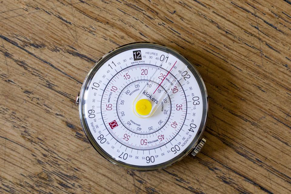 cadran circulaire montre klokers