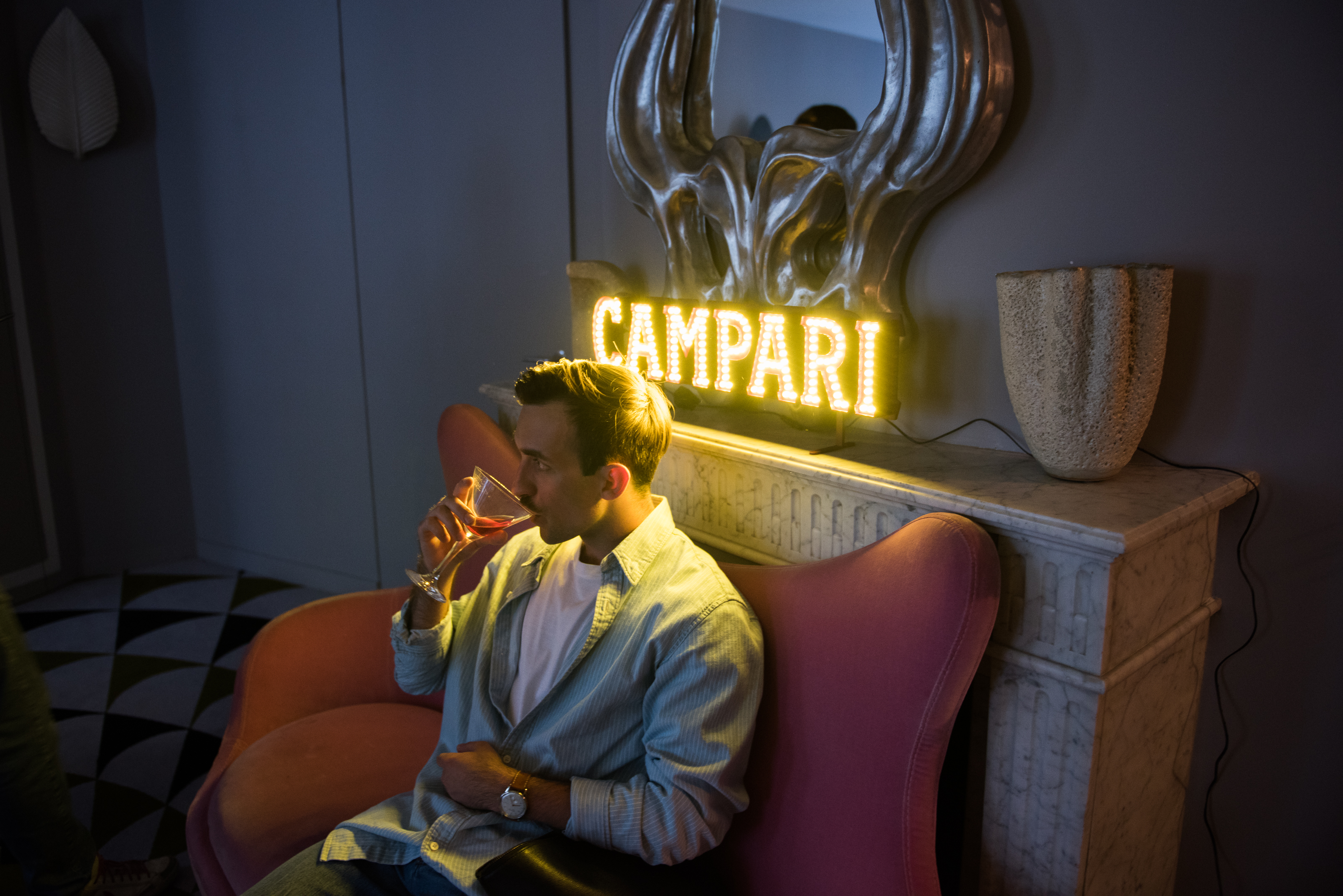 campari cocktail montana club