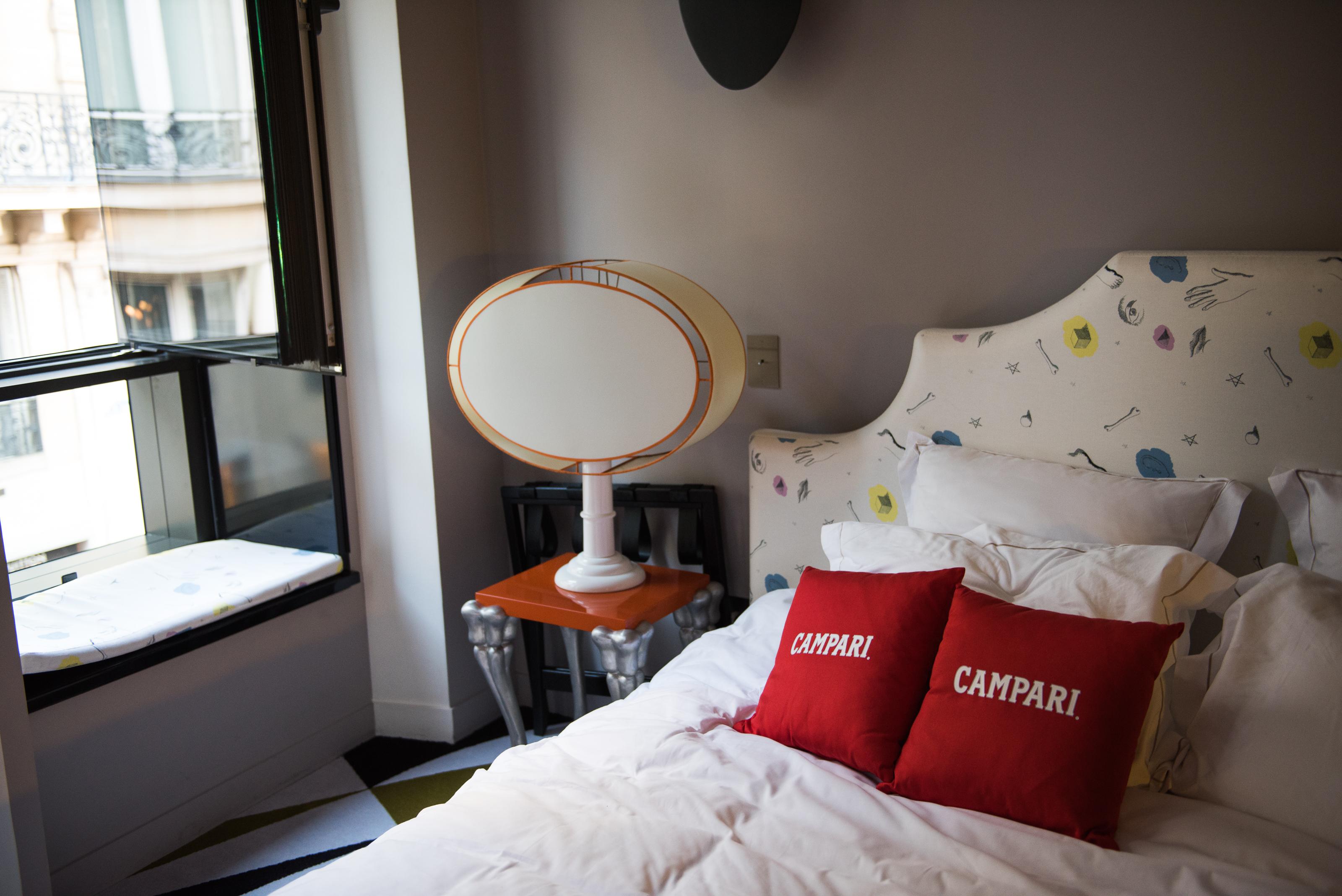 chambre hotel club montana campari