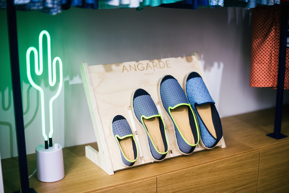 espadrilles angarde paris