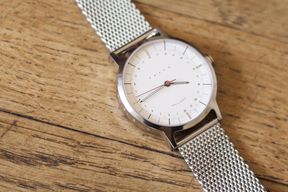 finition boitier vasco watch