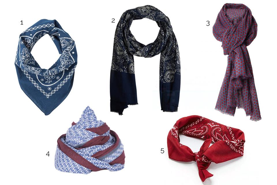 foulards look dandy