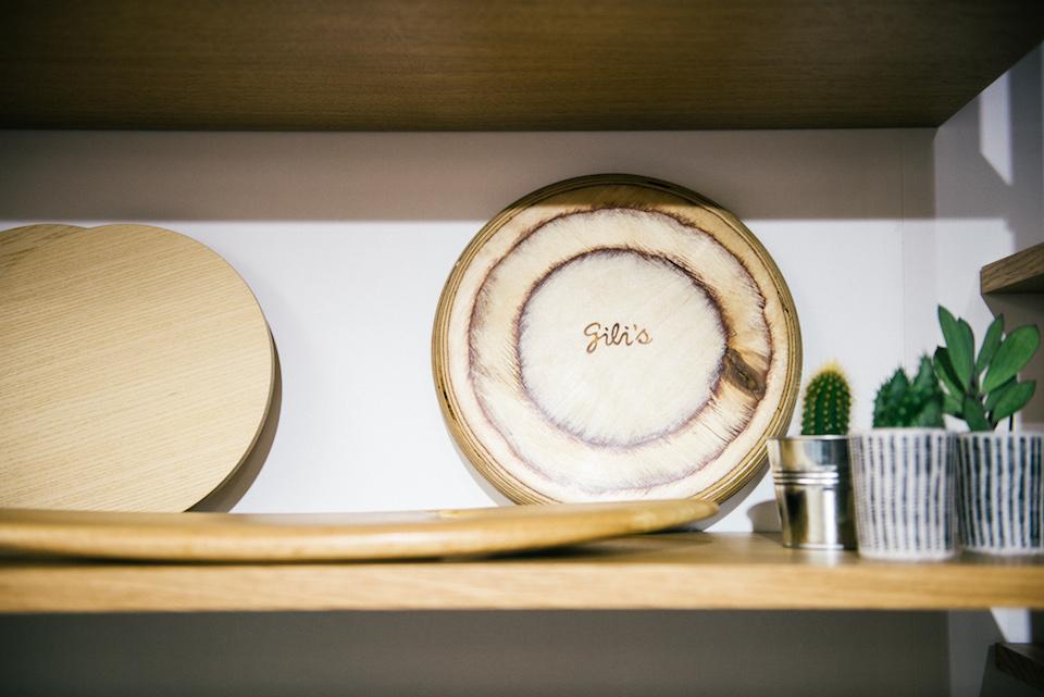 frisbee en bois de bouleau
