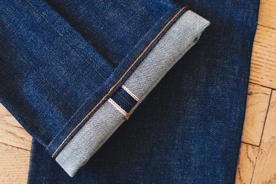 levis 1968 selvedge fabric