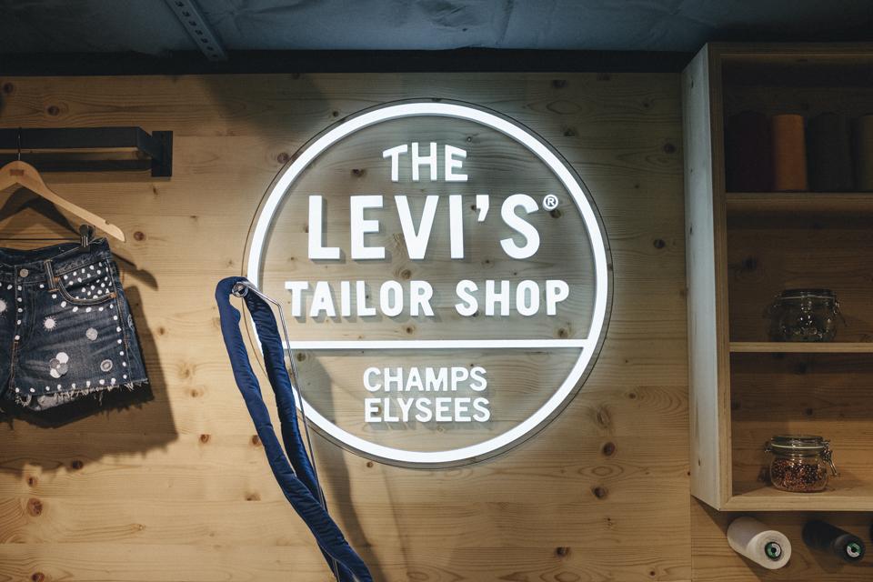 levis tailor shop champs elyessees
