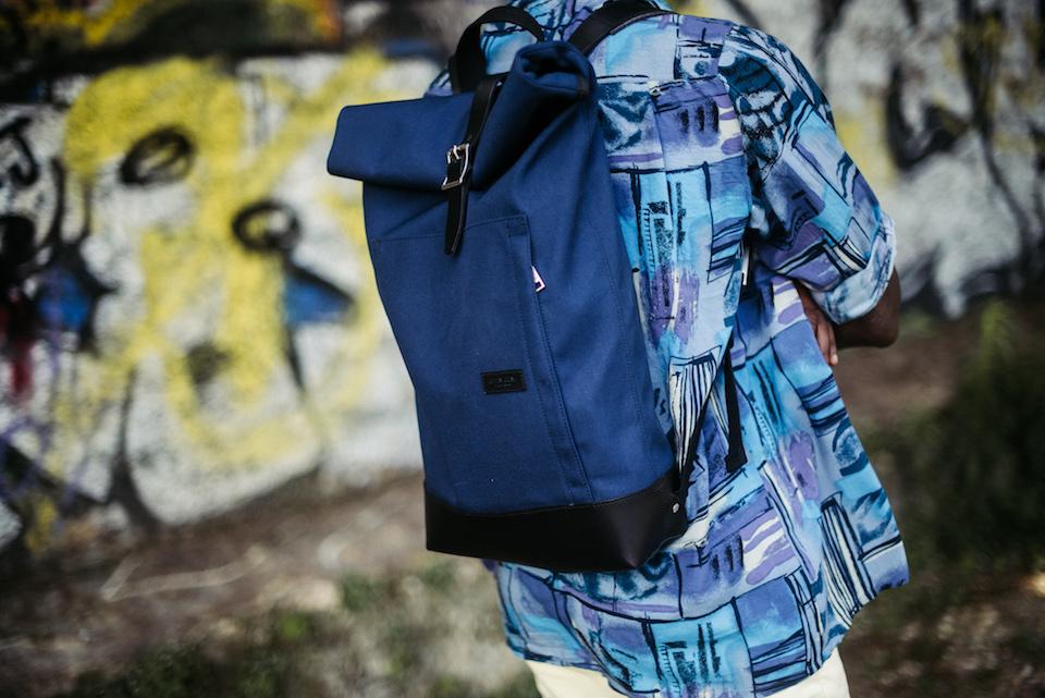 look homme sac bleu
