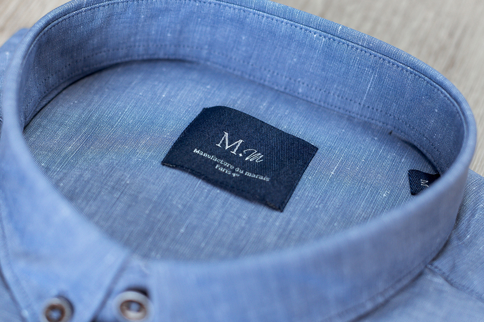 manufacture chemise etiquette
