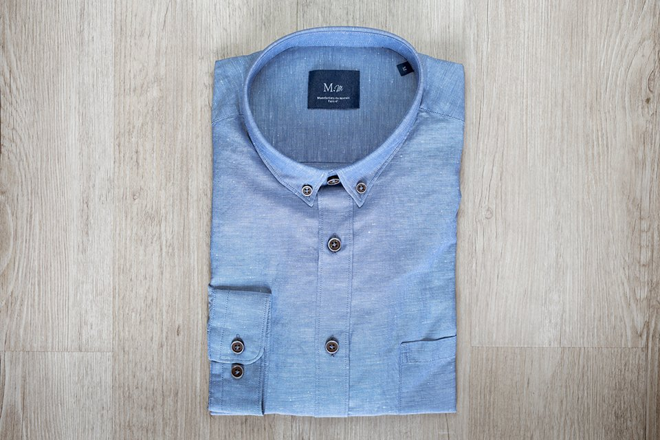 manufacture chemise pliee