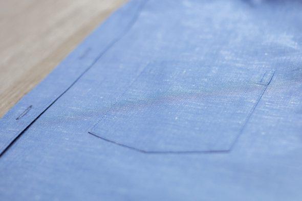 manufacture chemise poche