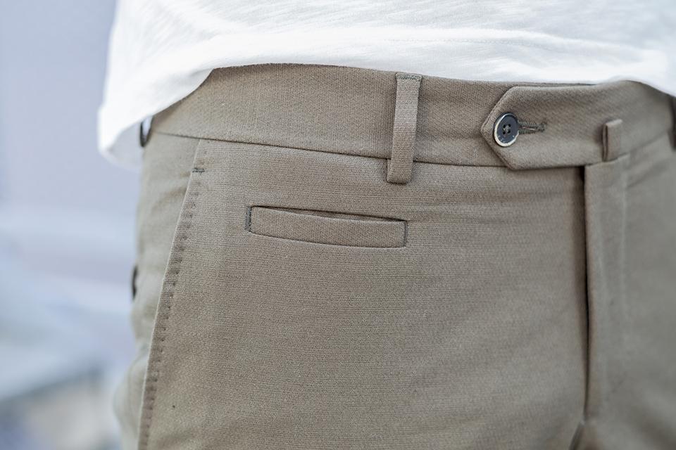 manufacture costume pantalon porte coin pocket