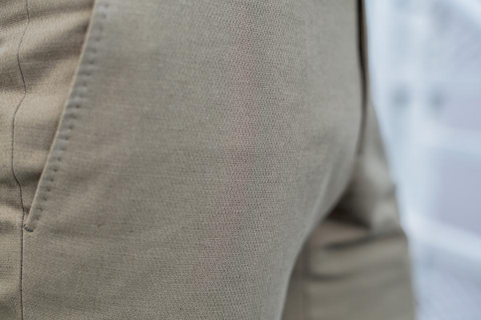 manufacture costume pantalon porte matiere