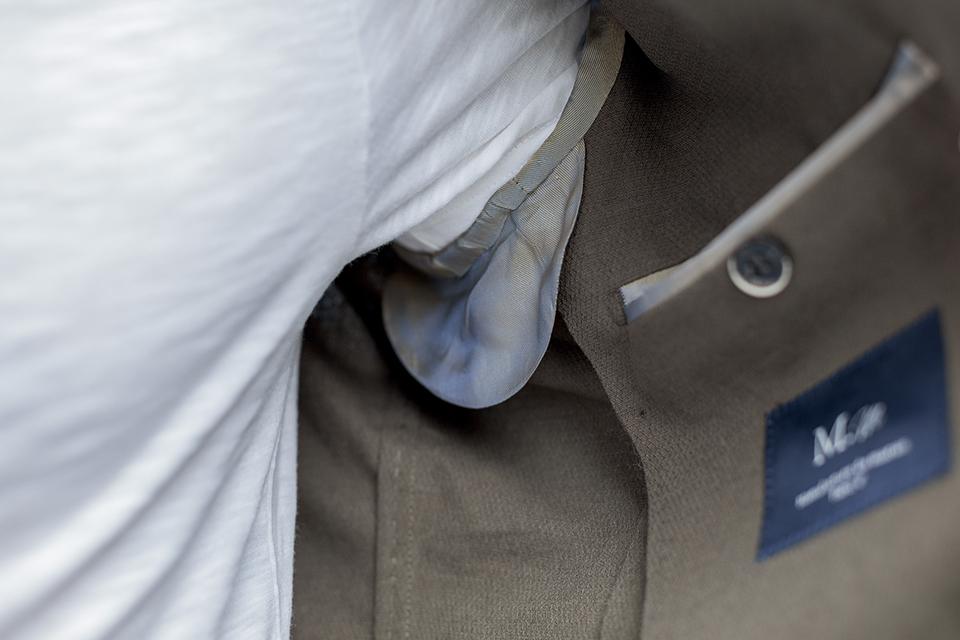 manufacture costume veste etiquette interieure