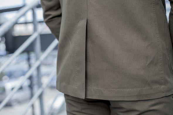 manufacture costume veste portee fente