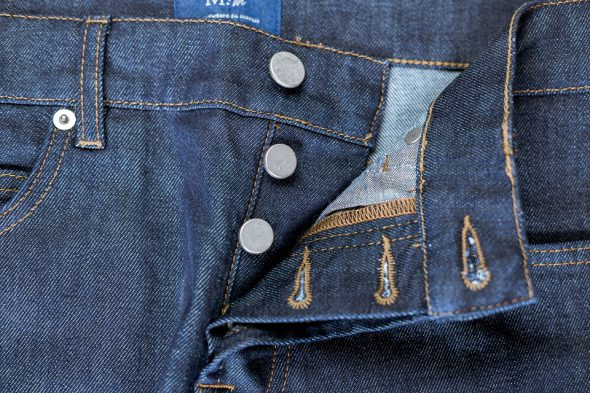 manufacture jeans boutonniere