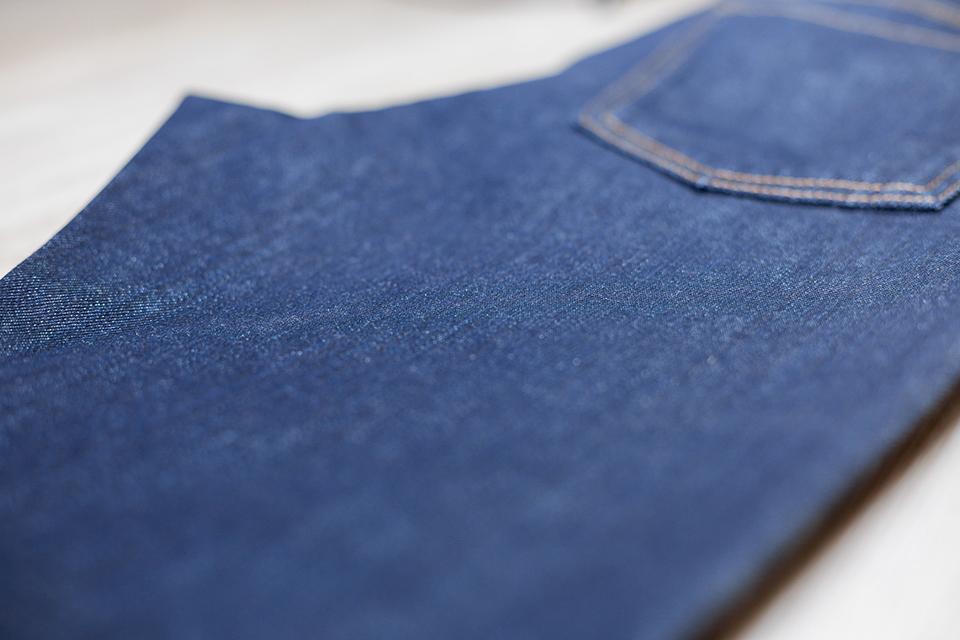 manufacture jeans matière