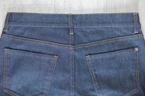 manufacture jeans poches arrieres