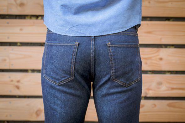 manufacture jeans porte fesses