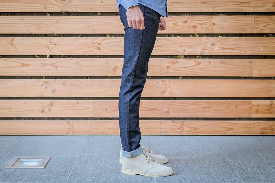 manufacture jeans porte profil