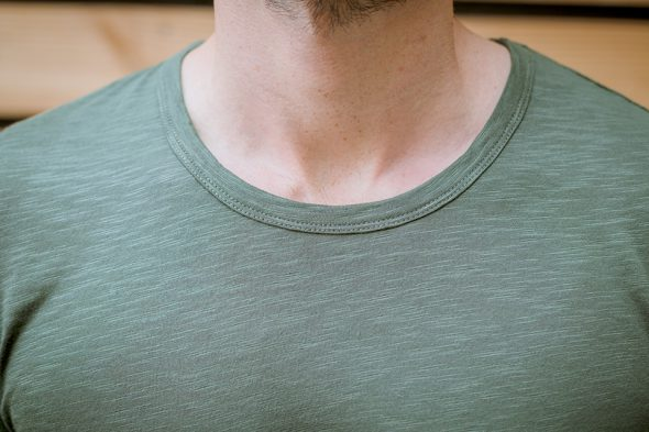 manufacture tshirt porte col