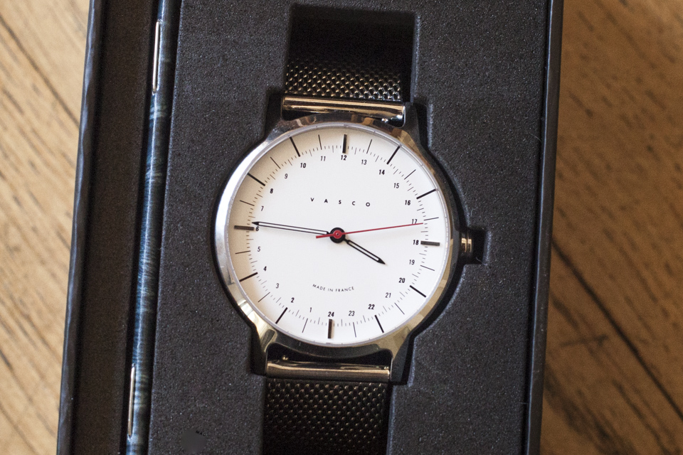 montre vasco watch inflexible