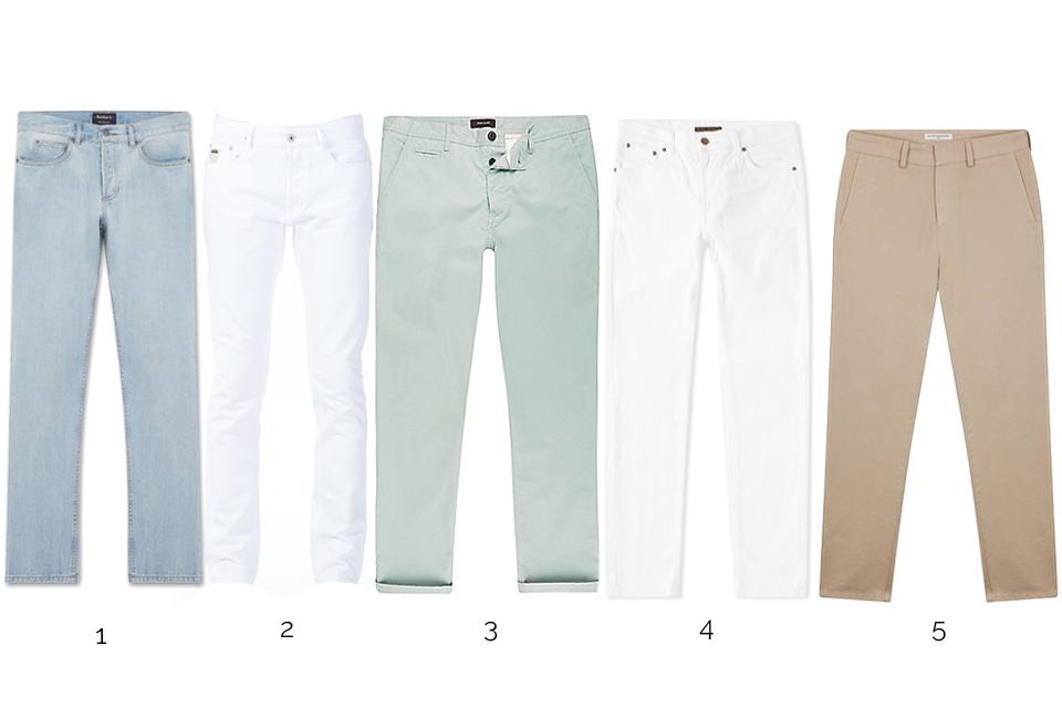 pantalons style dandy