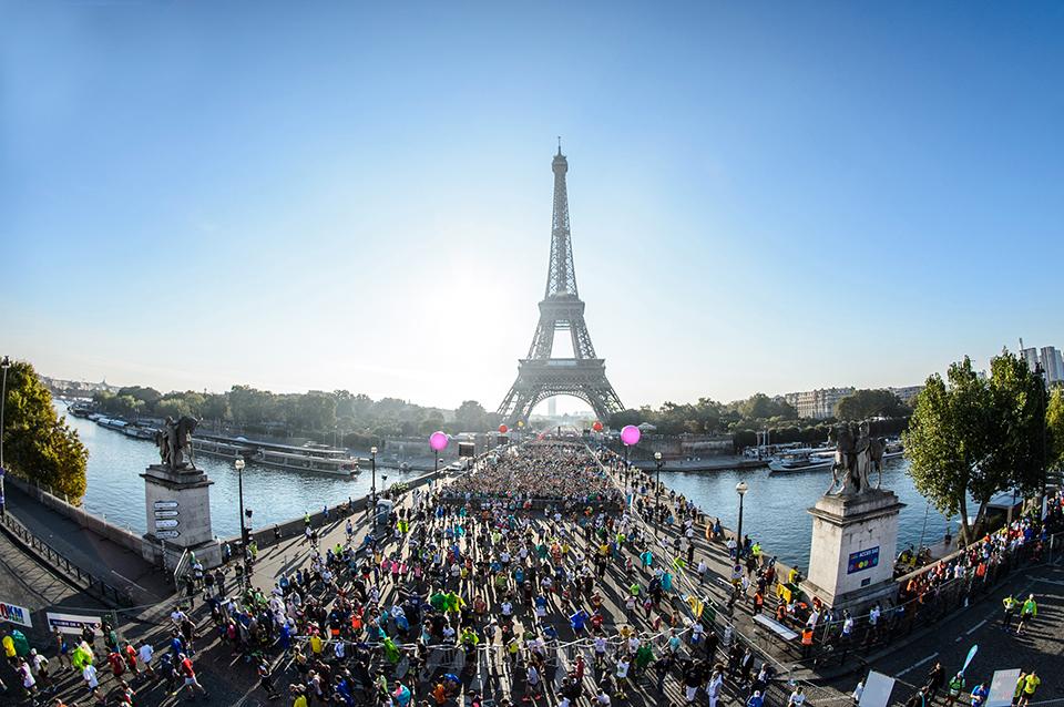 20 km de Paris Tour Eiffel