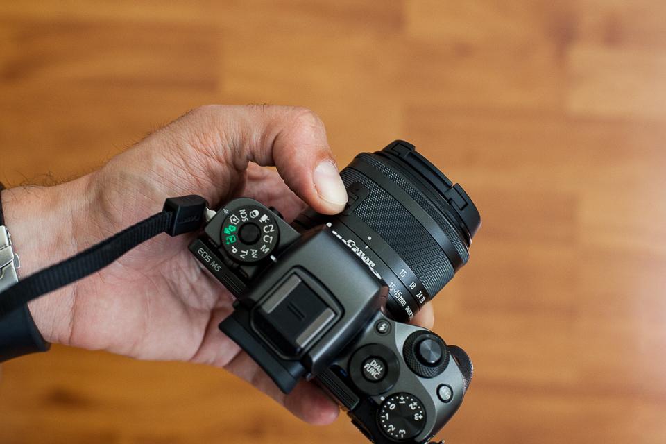 appareil photo canon eos m5
