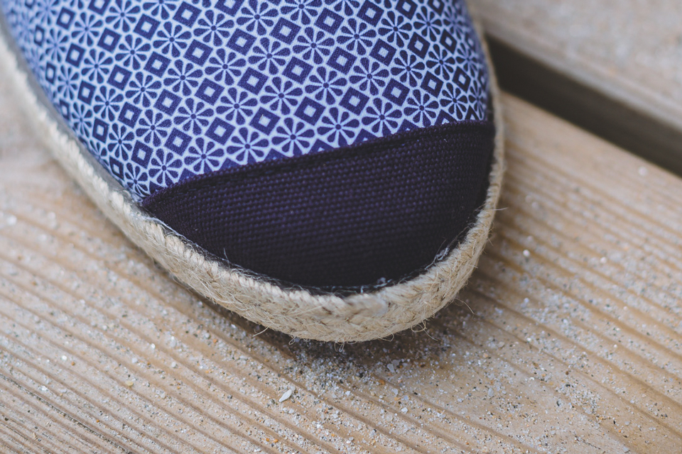 bout renforce espadrilles angarde