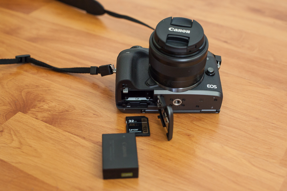 canon eos m5 batterie