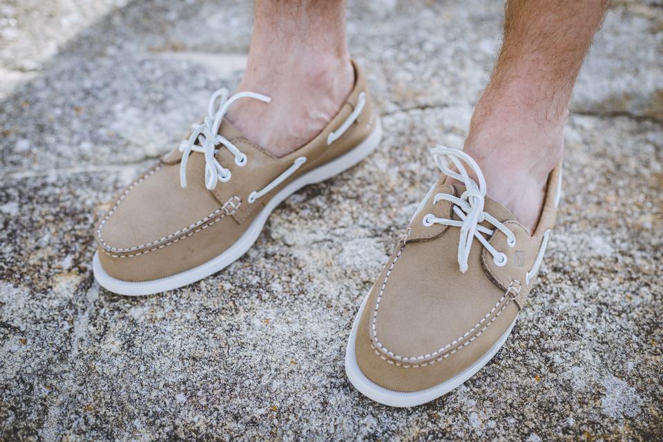 chaussures bateaux sperry essayage