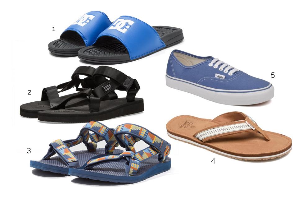 chaussures tendance surf
