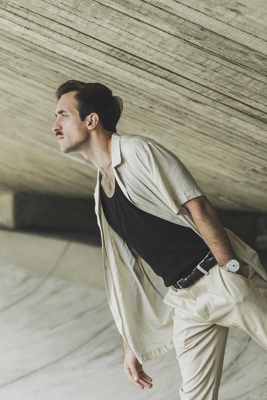 chemise harmony pantalon nus ceinture atelier particulier montre klokers