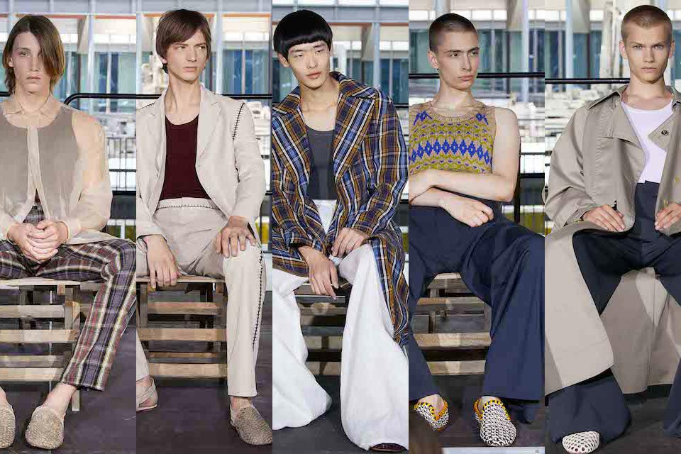 fashion week paris homme ss18 acne studios