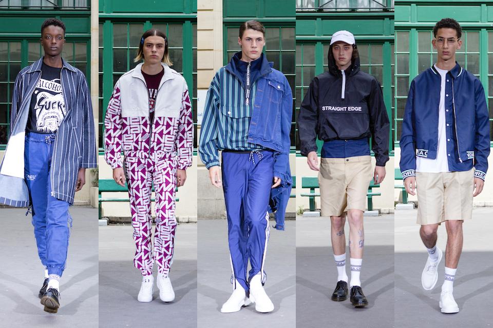 fashion week paris homme ss18 andrea crews
