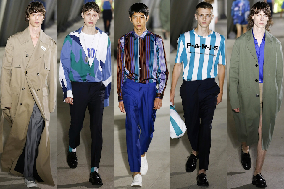 fashion week paris homme ss18 etudes studio