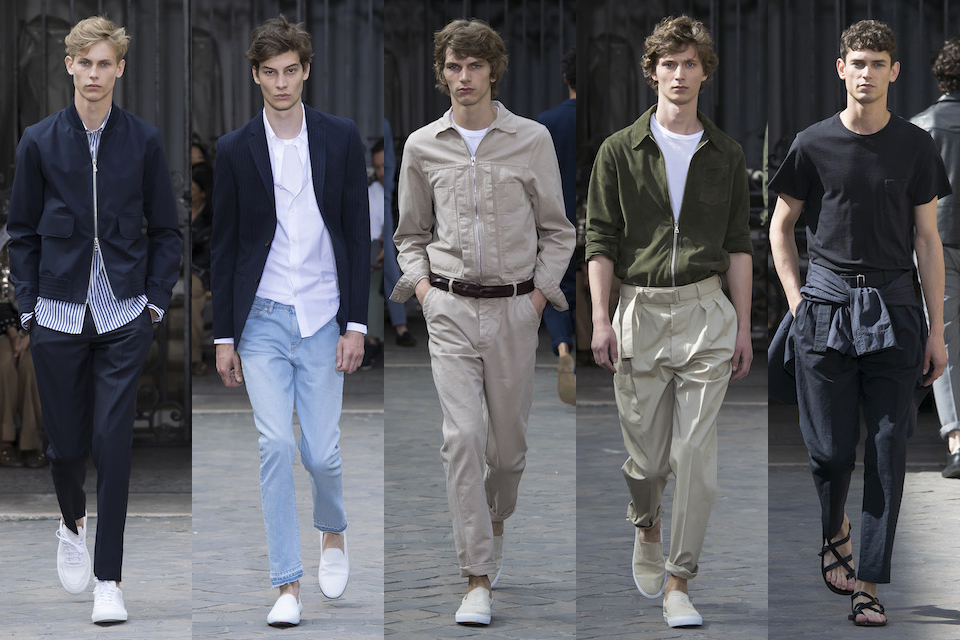 fashion week paris homme ss18 officine generale
