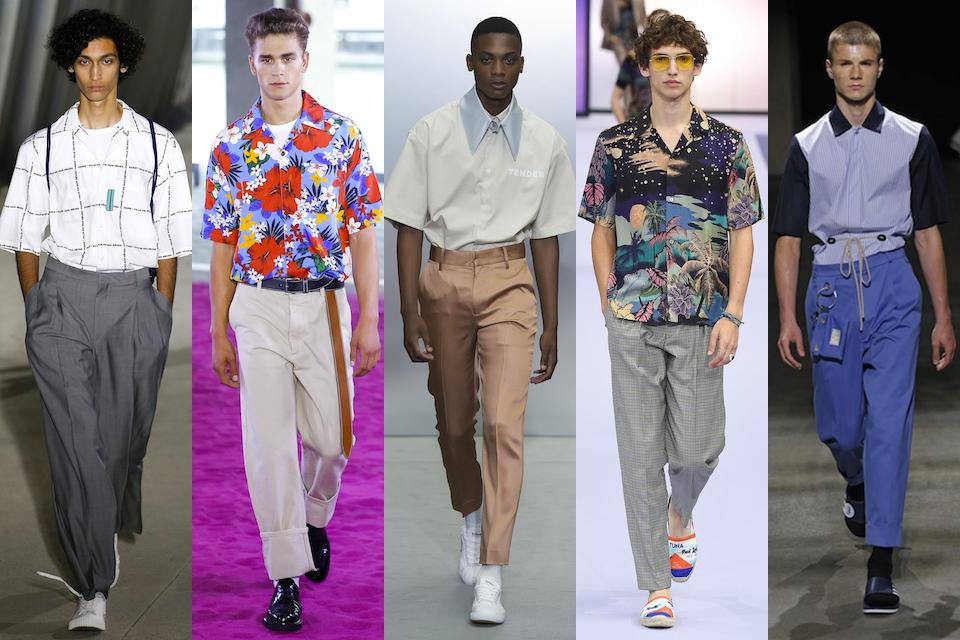 fashion week paris homme ss18 tendance chemisette