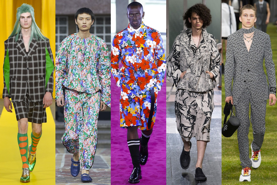fashion week paris homme ss18 tendance les ensembles