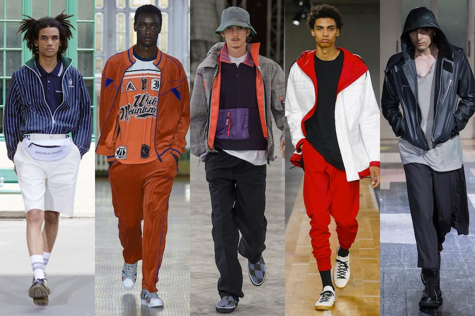 fashion week paris homme ss18 tendance racaille chic
