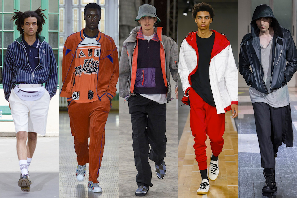 fashion week paris homme ss18 tendance racaille chic