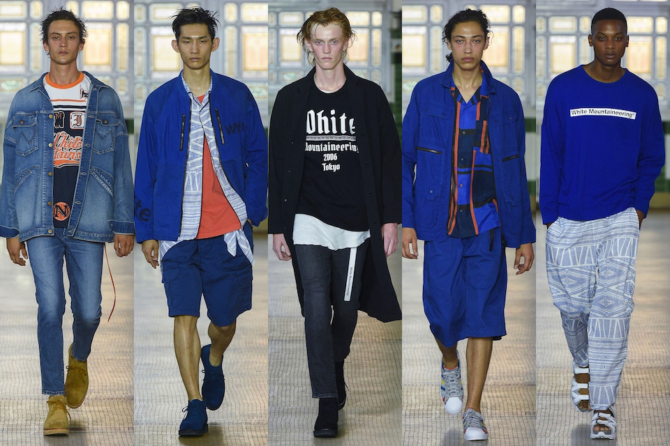 fashion week paris homme ss18 white mountaineering