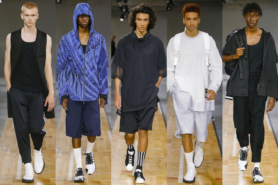 fashion week paris homme ss18 y 3