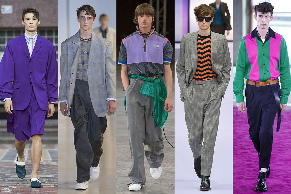 fashion week paris homme ss18 tendance annees 80