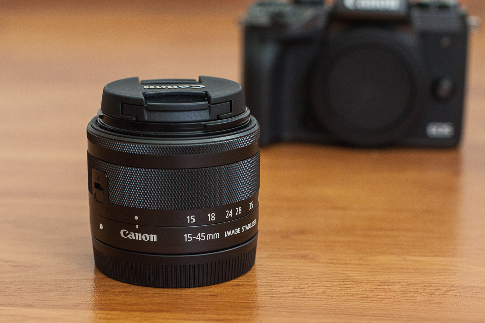 objectif canon eos m5