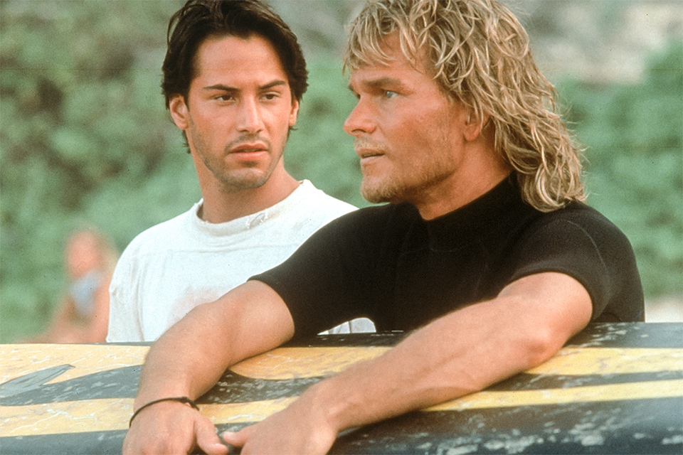 patrick swayze point break photo