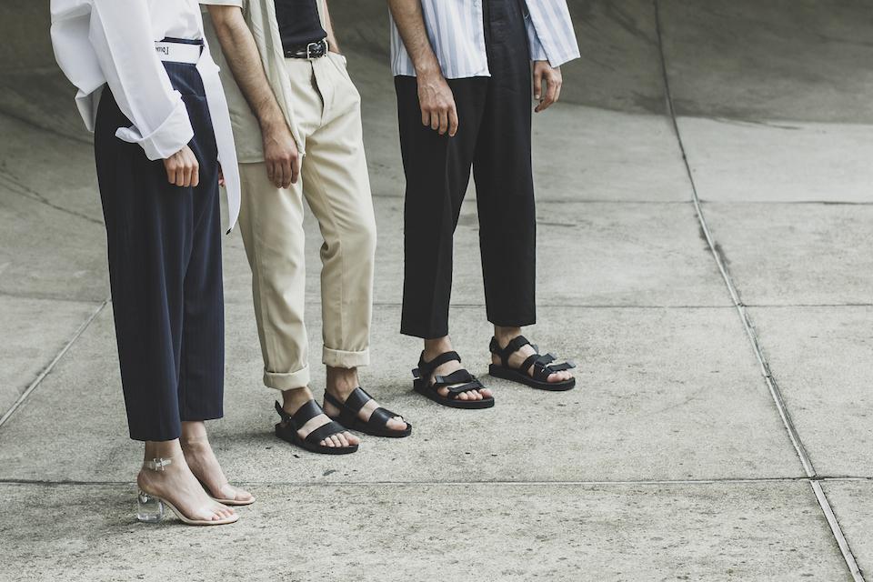 sandales homme noir sarenza
