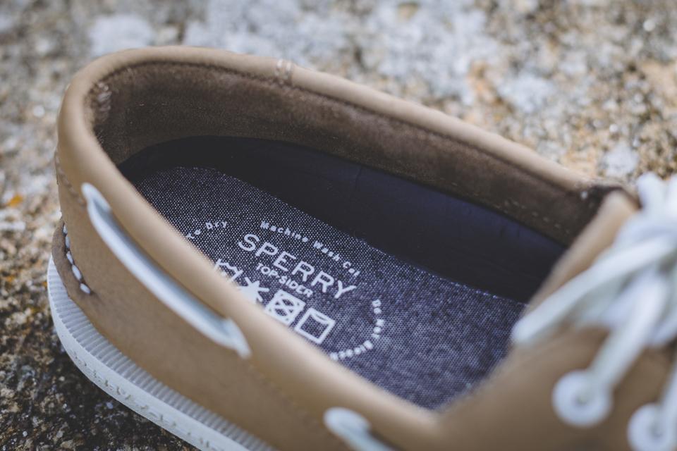 sperry semelle interieure chaussures bateaux