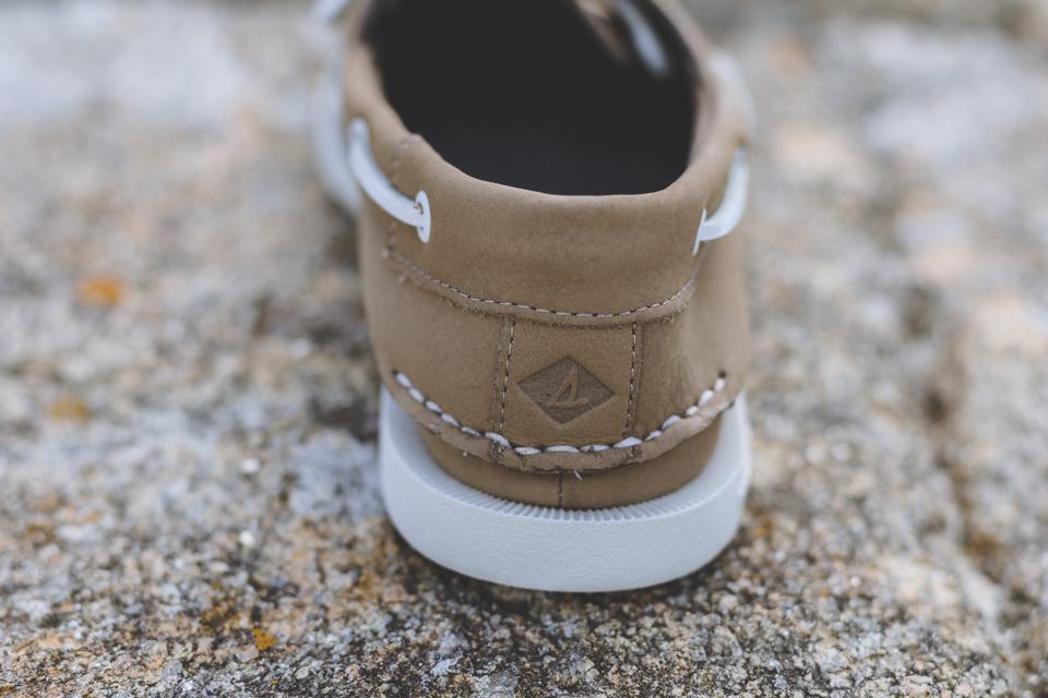 talon chaussures bateaux sperry