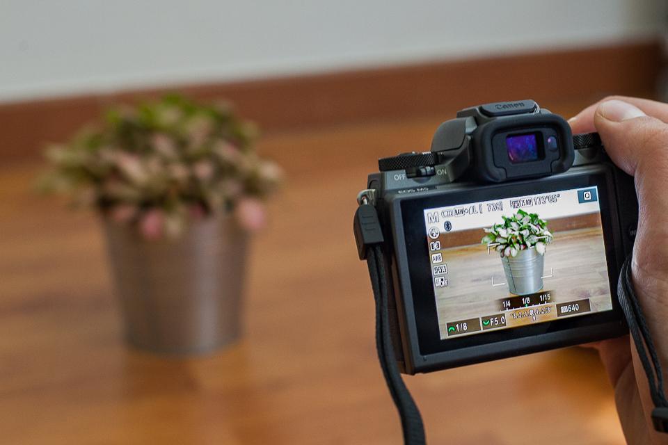 test photo canon eos m5