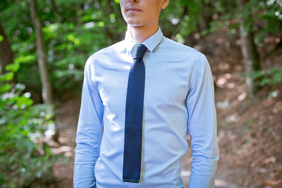 Dagobear-Cravate-Marine-Portee